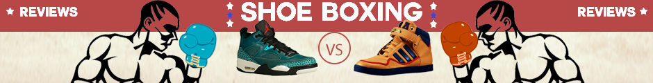 Shoe boxing banner
